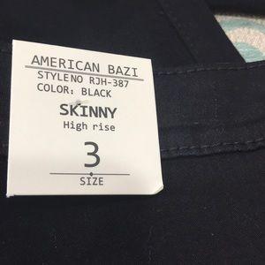 American Bazi Jeans - American Bazi black hi-rise skinny jeans